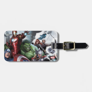 Avengers Classics | Poised For Battle Drawing Luggage Tag