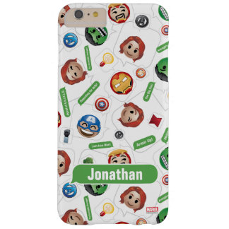 Avengers Emoji Characters Text Pattern Barely There iPhone 6 Plus Case