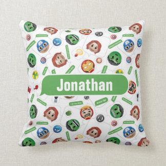 Avengers Emoji Characters Text Pattern Cushion