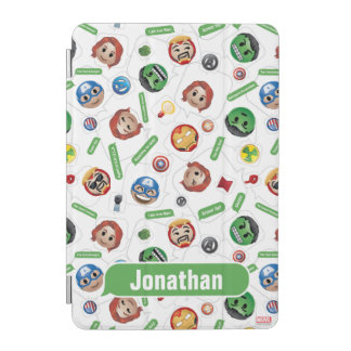 Avengers Emoji Characters Text Pattern iPad Mini Cover