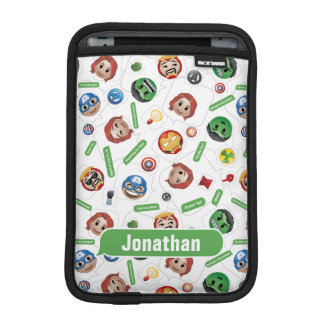 Avengers Emoji Characters Text Pattern iPad Mini Sleeve