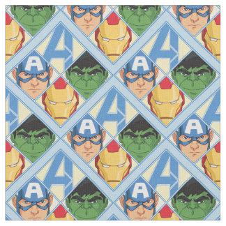 Avengers Face Badge Fabric