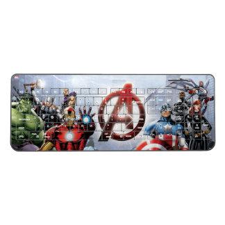 Avengers Group With Logo Wireless Keyboard