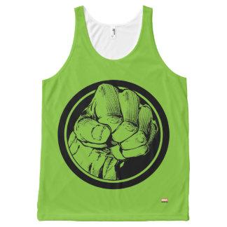 Avengers Hulk Fist Logo All-Over Print Tank Top
