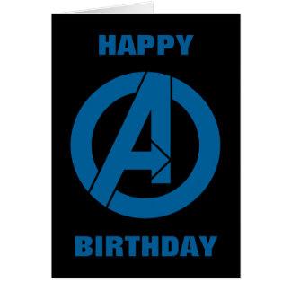 Avengers Logo Card