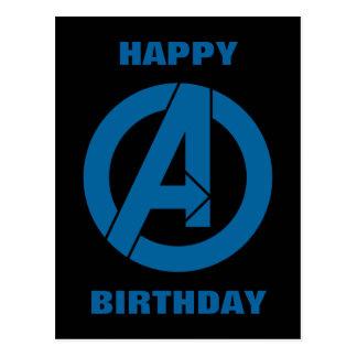 Avengers Logo Postcard