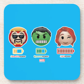 Avengers Power Emoji Beverage Coaster