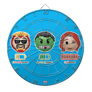 Avengers Power Emoji Dartboard