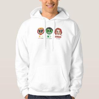Avengers Power Emoji Hoodie