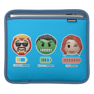 Avengers Power Emoji iPad Sleeve