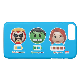 Avengers Power Emoji iPhone 7 Plus Case