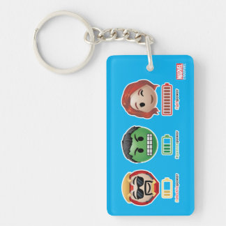 Avengers Power Emoji Key Ring