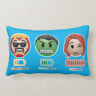 Avengers Power Emoji Lumbar Cushion