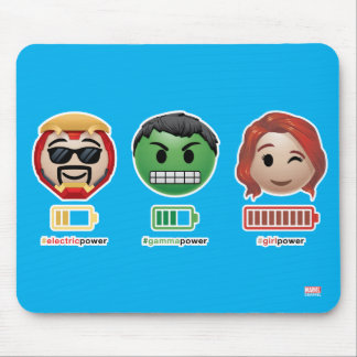Avengers Power Emoji Mouse Pad