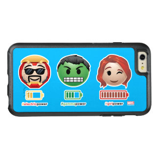 Avengers Power Emoji OtterBox iPhone 6/6s Plus Case