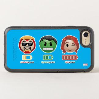 Avengers Power Emoji OtterBox Symmetry iPhone 7 Case