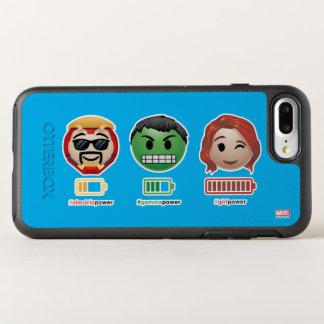 Avengers Power Emoji OtterBox Symmetry iPhone 8 Plus/7 Plus Case