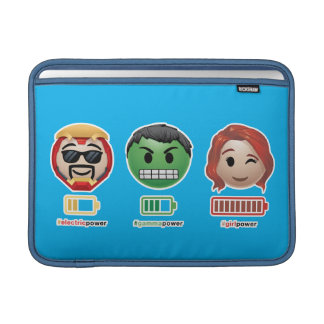 Avengers Power Emoji Sleeve For MacBook Air
