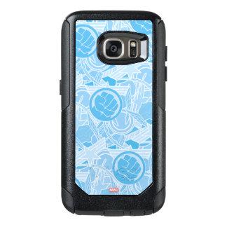 Avengers Symbols Pattern OtterBox Samsung Galaxy S7 Case