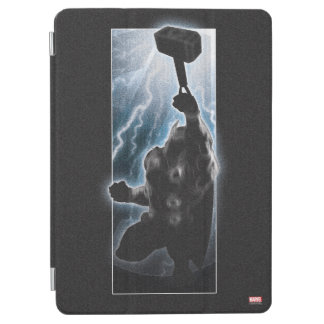 Avengers Thor Character Silhouette iPad Air Cover