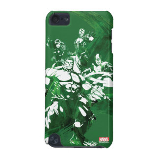 Avengers Watercolor Graphic iPod Touch (5th Generation) Case