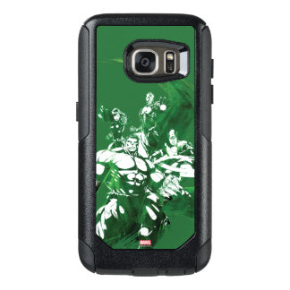 Avengers Watercolor Graphic OtterBox Samsung Galaxy S7 Case