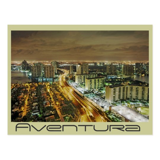Aventura, Florida, U.S.A. Postcard