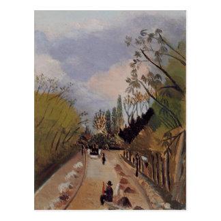 Avenue de l'Observatoire by Henri Rousseau Postcard