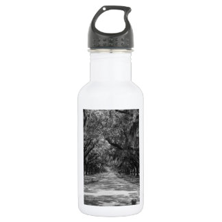 Avenue Of Oaks Grayscale 532 Ml Water Bottle