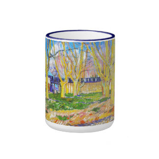 Avenue of Plane Trees near Arles Station by Vincen Mugs