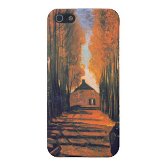 Avenue of Poplars in Autumn Vincent Van Gogh Case For iPhone 5