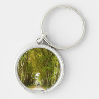 Avenue of Trees Key Ring