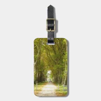 Avenue of Trees Luggage Tag