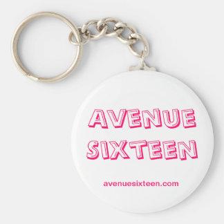 Avenue Sixteen Lipstick Keychain