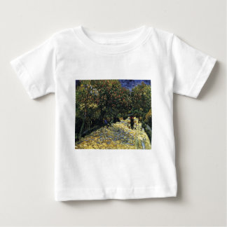 Avenue with Chestnut Trees at Arles - Van Gogh Baby T-Shirt