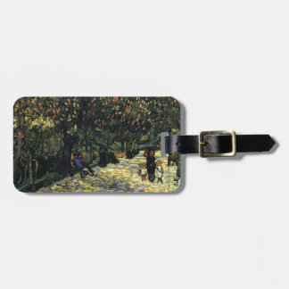 Avenue with Chestnut Trees at Arles - Van Gogh Luggage Tag