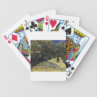 Avenue with Chestnut Trees at Arles - Van Gogh Poker Deck