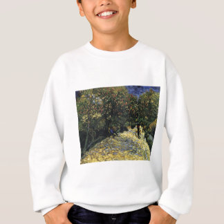 Avenue with Chestnut Trees at Arles - Van Gogh Sweatshirt