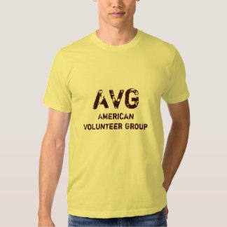 AVG, American Volunteer Group T Shirts