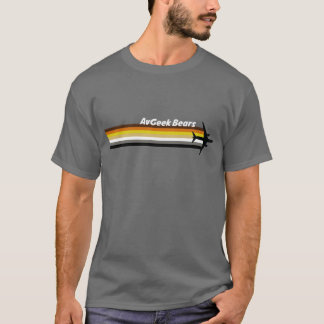 AvGeek Bears Bold WT T-Shirt