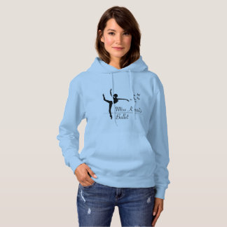 Aviano Ballet Program Womens Hoodie