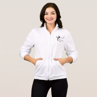 Aviano Ballet Program Womens Zip-up Sweater