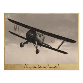 Aviate! Postcard