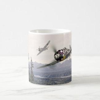 "Aviation art mug "" Fw190 """