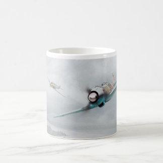 """Aviation art mug """"Lavochkin La-5 """""""