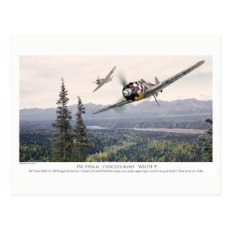 """Aviation Art Postcard """"Focke-Wulf Fw 190"""""""