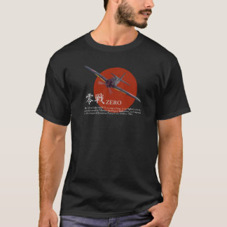 """Aviation Art T-shirt """"A6M Zero """""""
