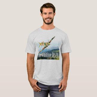 """Aviation Art T-shirt """"Dewoitine D.520 """""""