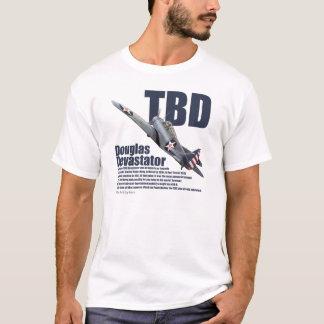 "Aviation Art T-shirt ""Douglas TBD Devastator """