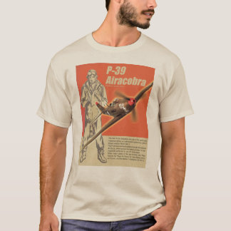 "Aviation Art T-shirt ""P-39 Airacobra """